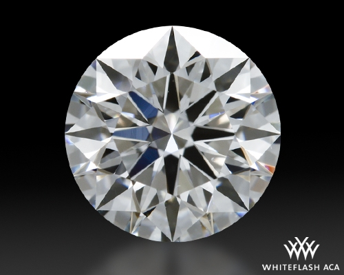 0.802 ct G VS1 A CUT ABOVE® Hearts and Arrows Super Ideal Round Cut Loose Diamond