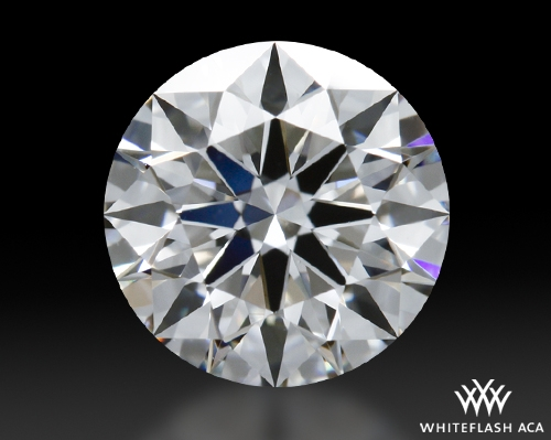0.833 ct F VS1 A CUT ABOVE® Hearts and Arrows Super Ideal Round Cut Loose Diamond