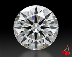 0.843 ct H SI1 A CUT ABOVE® Hearts and Arrows Super Ideal Round Cut Loose Diamond