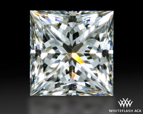 0.704 ct H VS2 A CUT ABOVE® Princess Super Ideal Cut Diamond