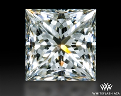 0.704 ct H VS2 A CUT ABOVE® Princess Super Ideal Cut Diamond