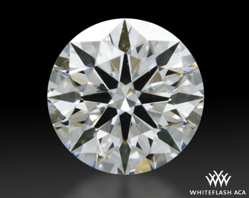 0.307 ct F VS1 A CUT ABOVE® Hearts and Arrows Super Ideal Round Cut Loose Diamond