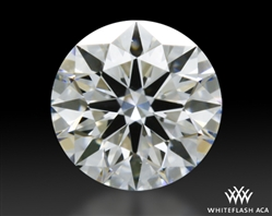 0.325 ct F VS1 A CUT ABOVE® Hearts and Arrows Super Ideal Round Cut Loose Diamond