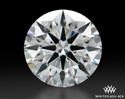 0.335 ct G VS1 A CUT ABOVE® Hearts and Arrows Super Ideal Round Cut Loose Diamond