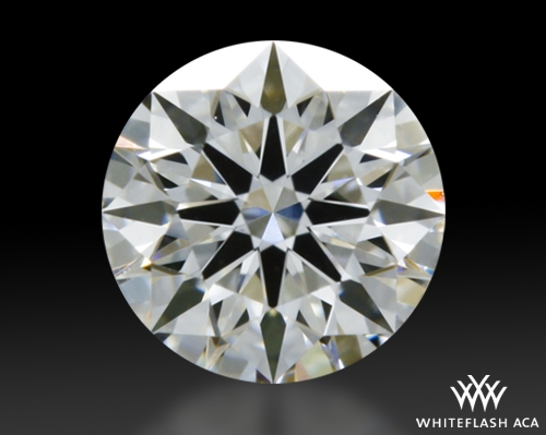 0.351 ct F VS2 A CUT ABOVE® Hearts and Arrows Super Ideal Round Cut Loose Diamond
