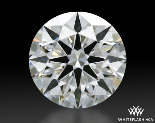 0.41 ct E VS1 A CUT ABOVE® Hearts and Arrows Super Ideal Round Cut Loose Diamond