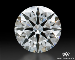 0.407 ct G VS2 A CUT ABOVE® Hearts and Arrows Super Ideal Round Cut Loose Diamond