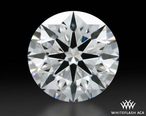 0.413 ct F SI1 A CUT ABOVE® Hearts and Arrows Super Ideal Round Cut Loose Diamond