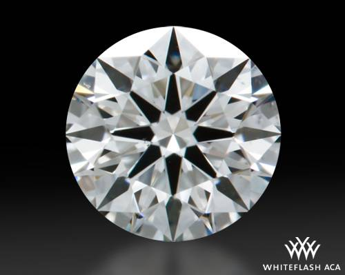 0.434 ct H VS2 A CUT ABOVE® Hearts and Arrows Super Ideal Round Cut Loose Diamond