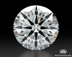 0.461 ct I SI1 A CUT ABOVE® Hearts and Arrows Super Ideal Round Cut Loose Diamond
