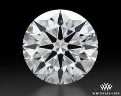 0.466 ct F SI1 A CUT ABOVE® Hearts and Arrows Super Ideal Round Cut Loose Diamond