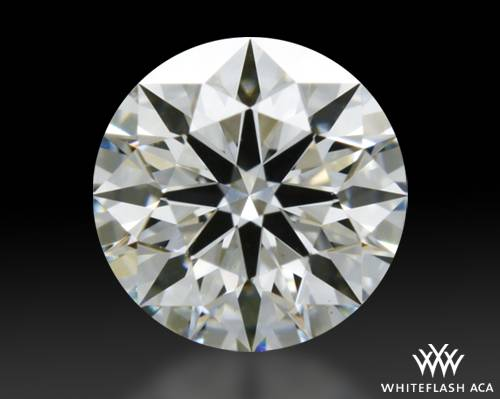 0.465 ct G VS1 A CUT ABOVE® Hearts and Arrows Super Ideal Round Cut Loose Diamond