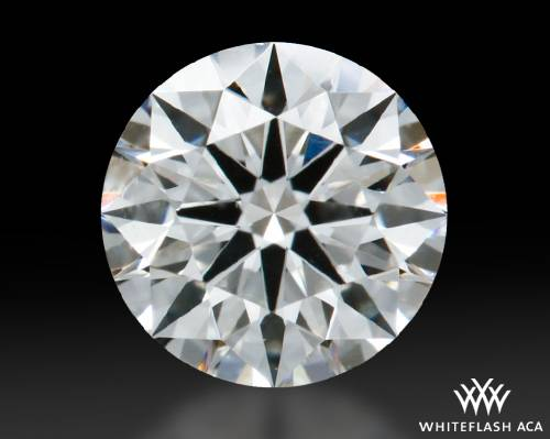 0.475 ct H SI1 A CUT ABOVE® Hearts and Arrows Super Ideal Round Cut Loose Diamond