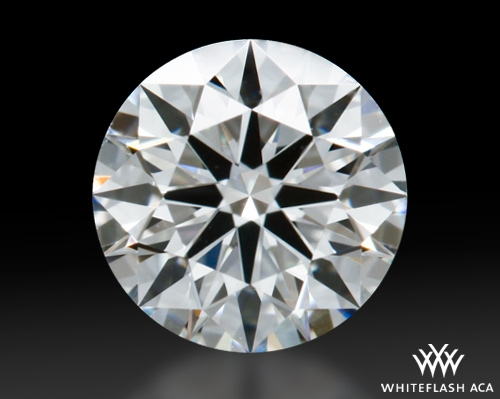 0.508 ct H VS1 A CUT ABOVE® Hearts and Arrows Super Ideal Round Cut Loose Diamond