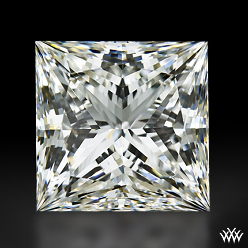 1.014 ct G VVS1 A CUT ABOVE® Princess Super Ideal Cut Diamond