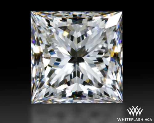 0.965 ct E VVS1 A CUT ABOVE® Princess Super Ideal Cut Diamond