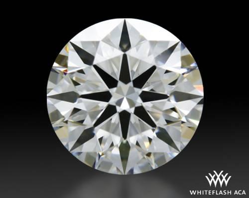 0.555 ct E VS1 A CUT ABOVE® Hearts and Arrows Super Ideal Round Cut Loose Diamond