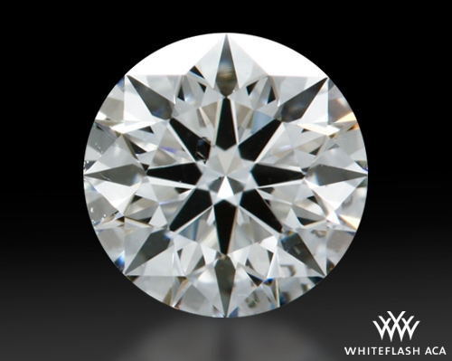 0.607 ct H SI1 A CUT ABOVE® Hearts and Arrows Super Ideal Round Cut Loose Diamond