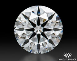 0.613 ct F VS2 A CUT ABOVE® Hearts and Arrows Super Ideal Round Cut Loose Diamond