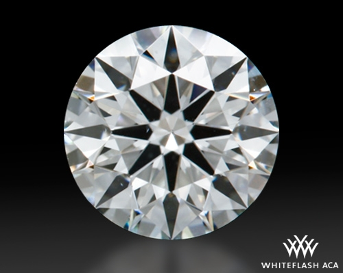 0.613 ct H SI1 A CUT ABOVE® Hearts and Arrows Super Ideal Round Cut Loose Diamond