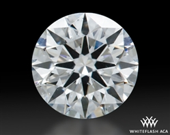 0.617 ct G SI1 A CUT ABOVE® Hearts and Arrows Super Ideal Round Cut Loose Diamond