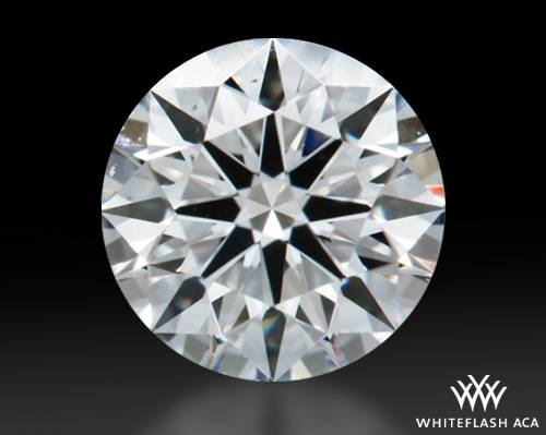 0.613 ct F SI1 A CUT ABOVE® Hearts and Arrows Super Ideal Round Cut Loose Diamond