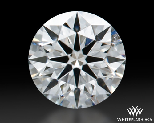 0.612 ct G SI1 A CUT ABOVE® Hearts and Arrows Super Ideal Round Cut Loose Diamond