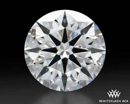 0.617 ct F SI1 A CUT ABOVE® Hearts and Arrows Super Ideal Round Cut Loose Diamond