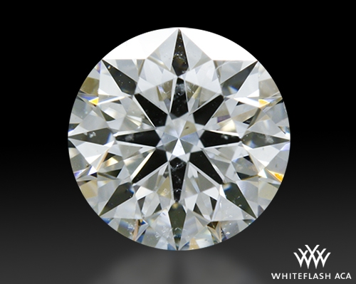 0.618 ct E SI1 A CUT ABOVE® Hearts and Arrows Super Ideal Round Cut Loose Diamond