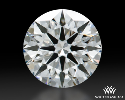 0.612 ct I VS2 A CUT ABOVE® Hearts and Arrows Super Ideal Round Cut Loose Diamond