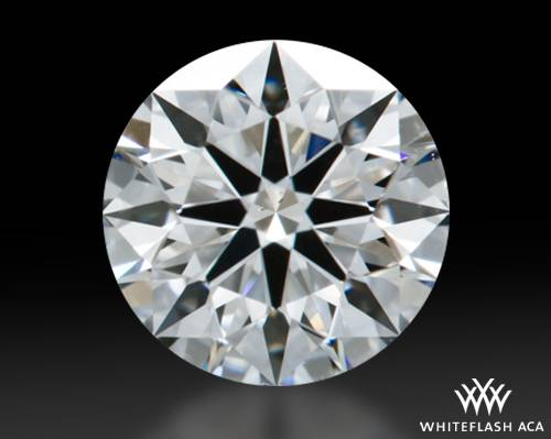 0.638 ct F VS2 A CUT ABOVE® Hearts and Arrows Super Ideal Round Cut Loose Diamond