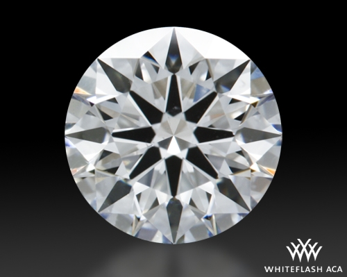 0.82 ct F VS2 A CUT ABOVE® Hearts and Arrows Super Ideal Round Cut Loose Diamond