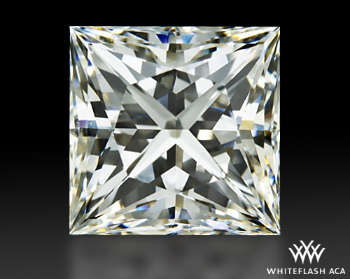 0.921 ct G VS2 A CUT ABOVE® Princess Super Ideal Cut Diamond