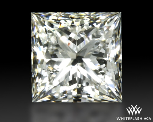 0.81 ct H VVS2 A CUT ABOVE® Princess Super Ideal Cut Diamond