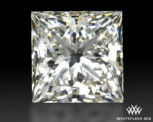 0.911 ct I VVS2 A CUT ABOVE® Princess Super Ideal Cut Diamond