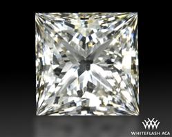 0.911 ct I VVS2 A CUT ABOVE® Princess Super Ideal Cut Diamond