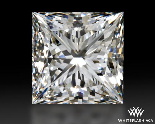 1.676 ct G VS1 A CUT ABOVE® Princess Super Ideal Cut Diamond