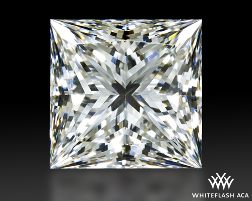 1.29 ct F VVS2 A CUT ABOVE® Princess Super Ideal Cut Diamond