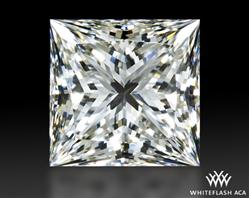 1.29 ct F VVS2 A CUT ABOVE® Princess Super Ideal Cut Diamond