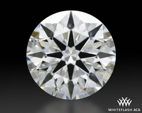 0.308 ct E VVS1 A CUT ABOVE® Hearts and Arrows Super Ideal Round Cut Loose Diamond