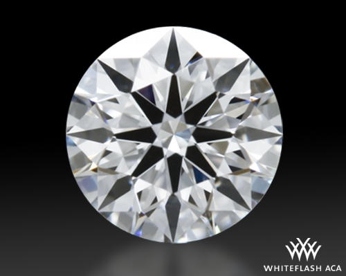 0.318 ct E VVS2 A CUT ABOVE® Hearts and Arrows Super Ideal Round Cut Loose Diamond