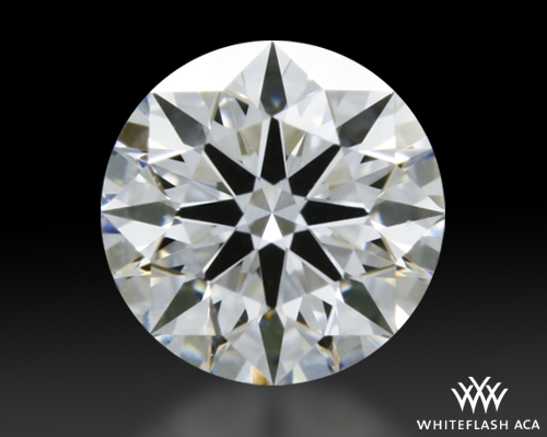 0.324 ct E VS1 A CUT ABOVE® Hearts and Arrows Super Ideal Round Cut Loose Diamond