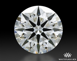 0.324 ct E VS1 A CUT ABOVE® Hearts and Arrows Super Ideal Round Cut Loose Diamond