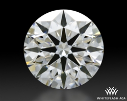 0.335 ct I VS2 A CUT ABOVE® Hearts and Arrows Super Ideal Round Cut Loose Diamond