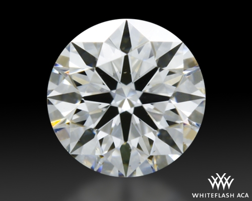 0.336 ct E VS2 A CUT ABOVE® Hearts and Arrows Super Ideal Round Cut Loose Diamond