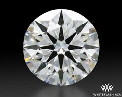 0.336 ct E VS2 A CUT ABOVE® Hearts and Arrows Super Ideal Round Cut Loose Diamond