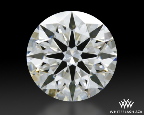 0.358 ct F VS1 A CUT ABOVE® Hearts and Arrows Super Ideal Round Cut Loose Diamond