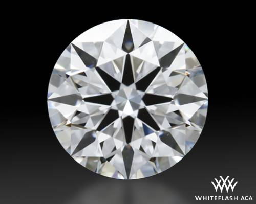 0.411 ct E VS1 A CUT ABOVE® Hearts and Arrows Super Ideal Round Cut Loose Diamond