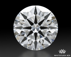 0.435 ct G SI1 A CUT ABOVE® Hearts and Arrows Super Ideal Round Cut Loose Diamond