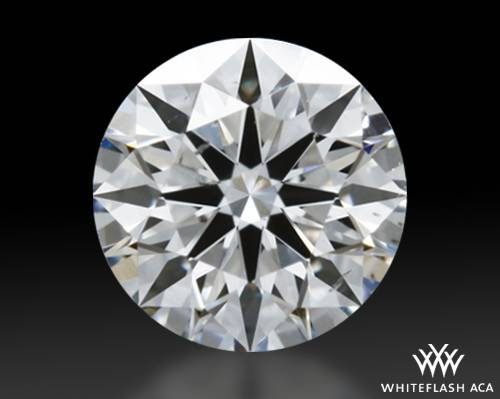 0.438 ct G SI1 A CUT ABOVE® Hearts and Arrows Super Ideal Round Cut Loose Diamond
